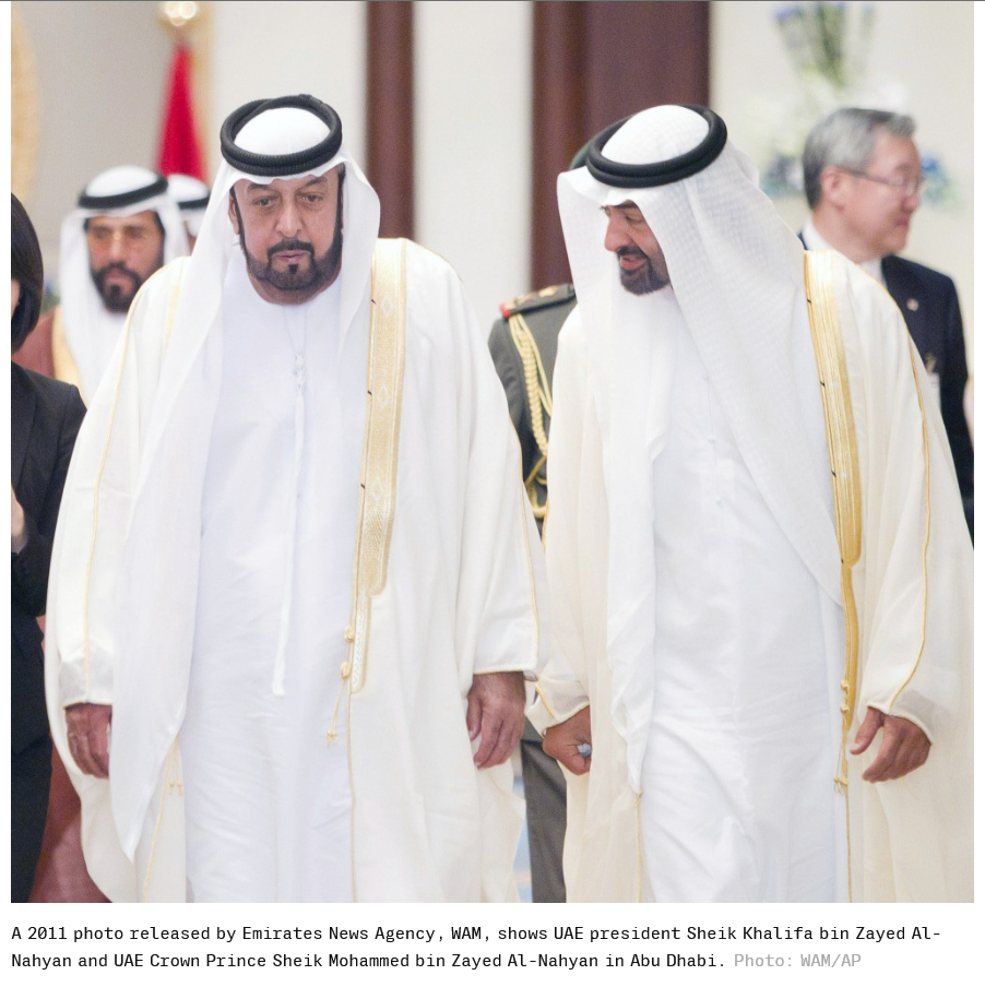 Abu Dhabi Crown Prince and de facto ruler of the UAE Federation, Mohamed bin Zayed al-Nahyan, is a fugitive from justice. The Government of India has also helped him remain a 'fugitive debtor' all these years! 'A total shame for the so-called India-UAE relations'!!