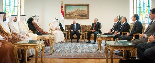 Egypt-Is-Arena-for-Influence-of-UAE